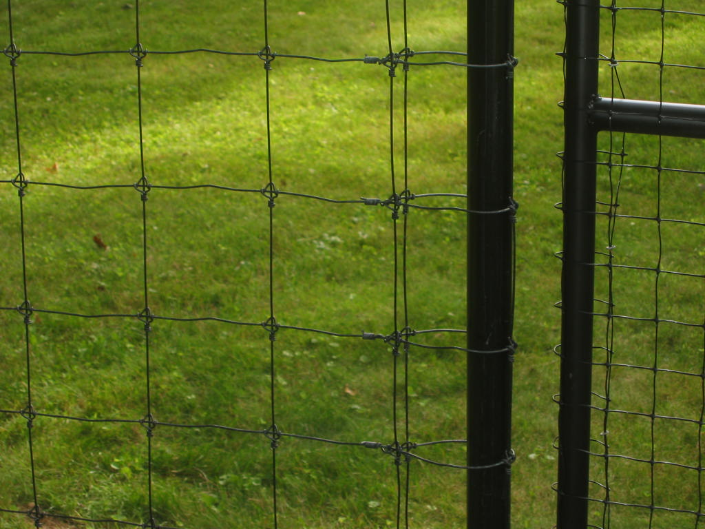 Professionally Installed Residential Woven Wire Fencing in CT.